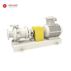 Fluorine-lined Chemical Centrifugal Pump with Magnetic Drive