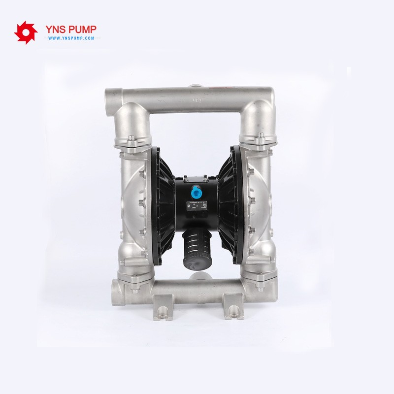 Portable Stainless Steel Pneumatic Diaphragm Pump with Teflon Diaphragm